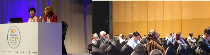 来自阿布扎比的中国声音:贾伟平教授在国际糖尿病联盟大会上作专题报告